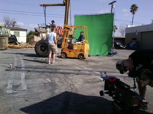 23 The DP Preparing the ALEXA Camera