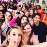 09 PhotoBomb Keltie Knight of The Insider