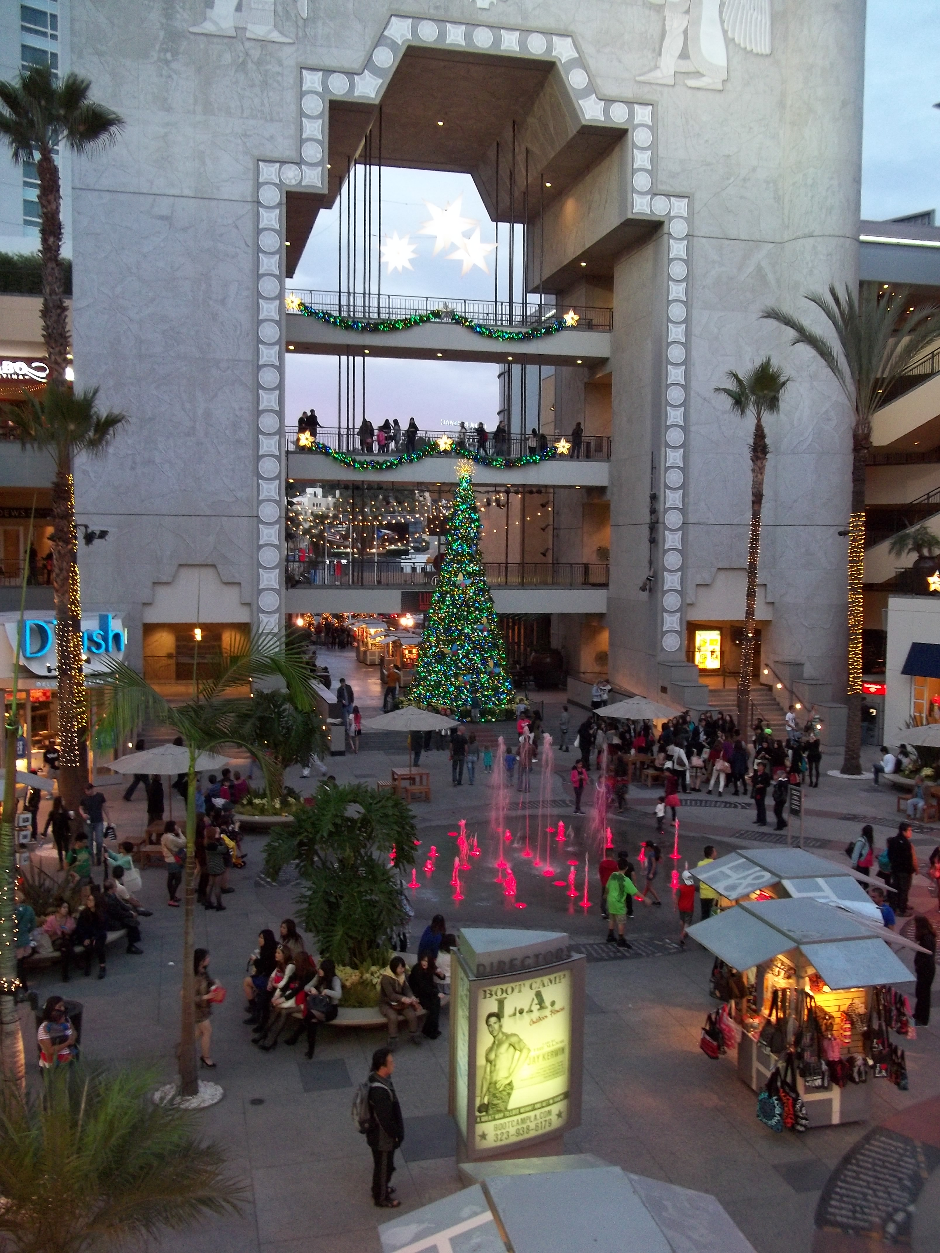 The Holidays at Hollywood Highland Center | the tyler