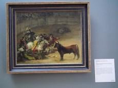 30 Bullfight by Goya