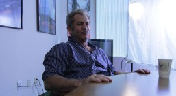 13 Mel Gibson playfully mugging for our cameras