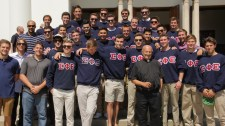 04 Father Fulcos Jubilee with his SigEp Brothers
