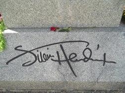 01 Jimi's Signature In Stone