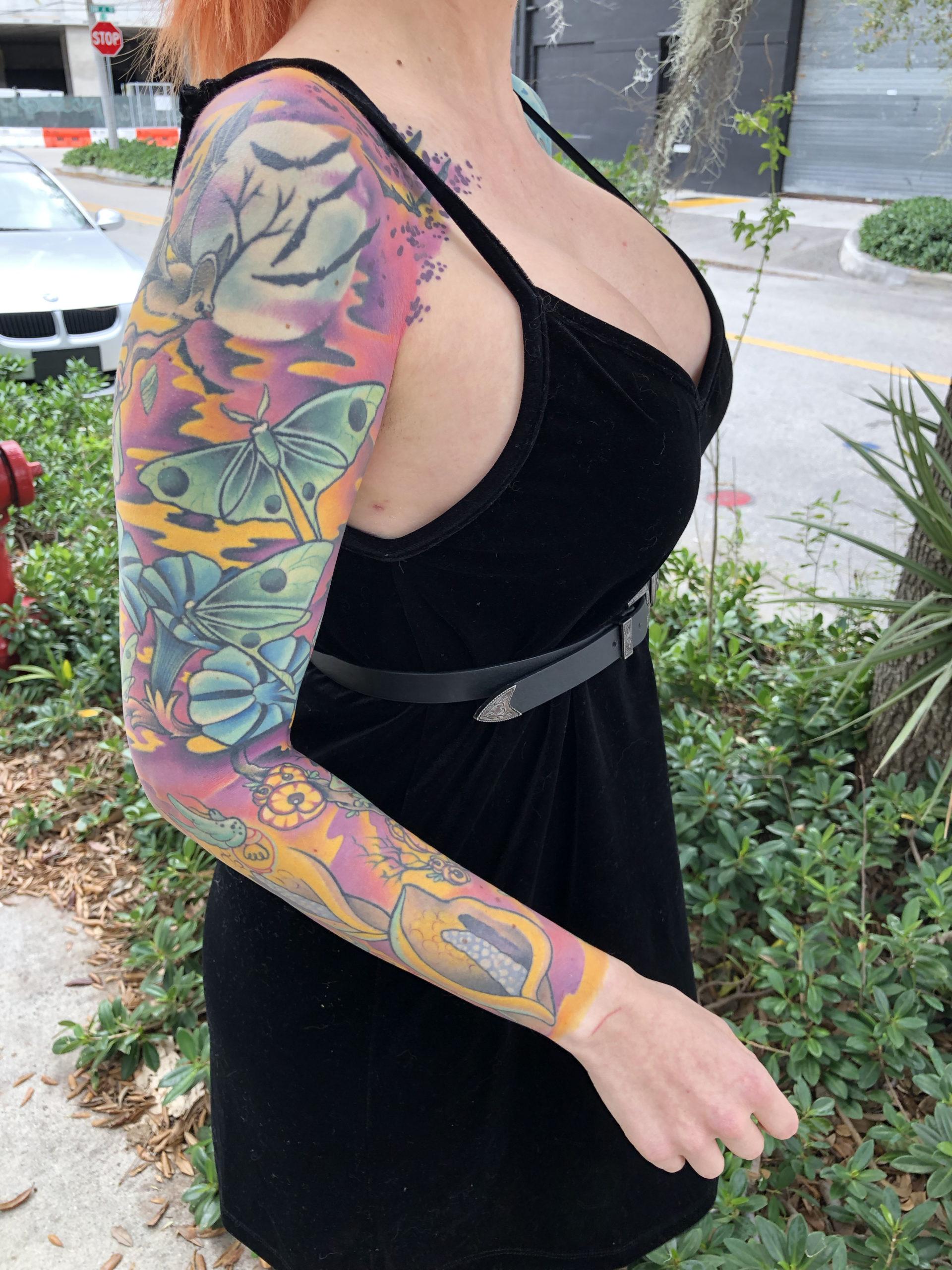 Tyler Nolan Tattoo : tyler, nolan, tattoo, Tyler, Nolan, Tattoo, Inquiry, Sunshine, State