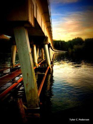 Ada Bridge, Siltcoos Lake, Oregon