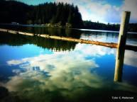 Siltcoos Lake, Oregon Coast