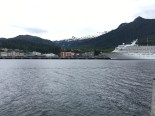 Driving past Ketchikan