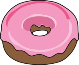 picture of a cartoon donut