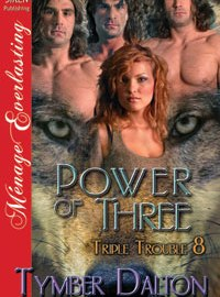 Release Day: Power of Three (Triple Trouble 8)