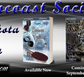Release Day: Beware Falling Rocks (Suncoast Society), and a Time Machine Discount!