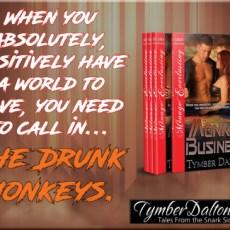 Drunk Monkeys series featured!