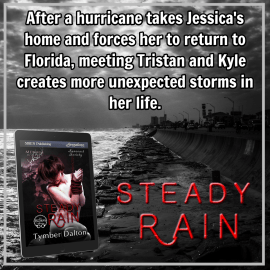 Now on Kindle and third-party sites: Steady Rain (Suncoast Society)