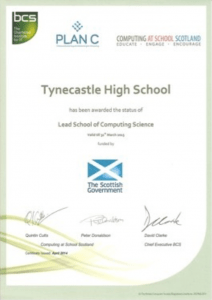 Lead School of Computing Certificate