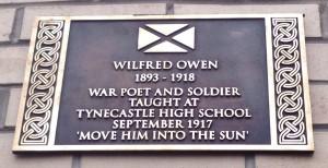 Wilfred Owen Plaque