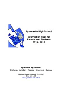THS Information Pack for Parents and Students 2015-16