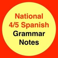 Nat 4/5 Grammar Notes