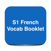 S1 French Vocab Booklet