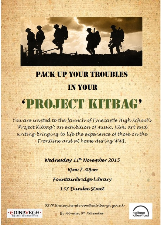 Project Kitbag Invitation