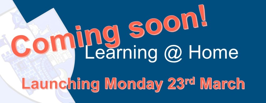 Learning @ Home launches 23rd March