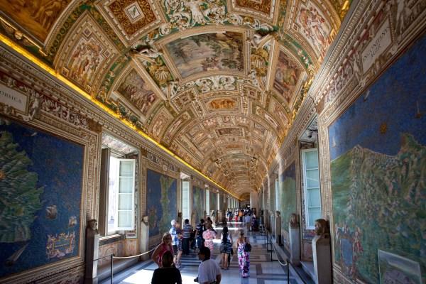 Gallery of Maps Vatican Museum