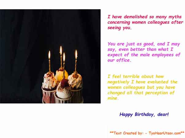 Heartwarming Birthday Wishes For Colleagues Co Workers Various Tones