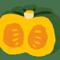かぼちゃのイラストです。