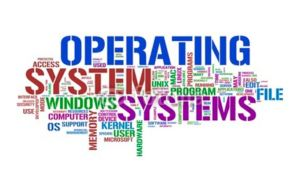 operating system of the computer