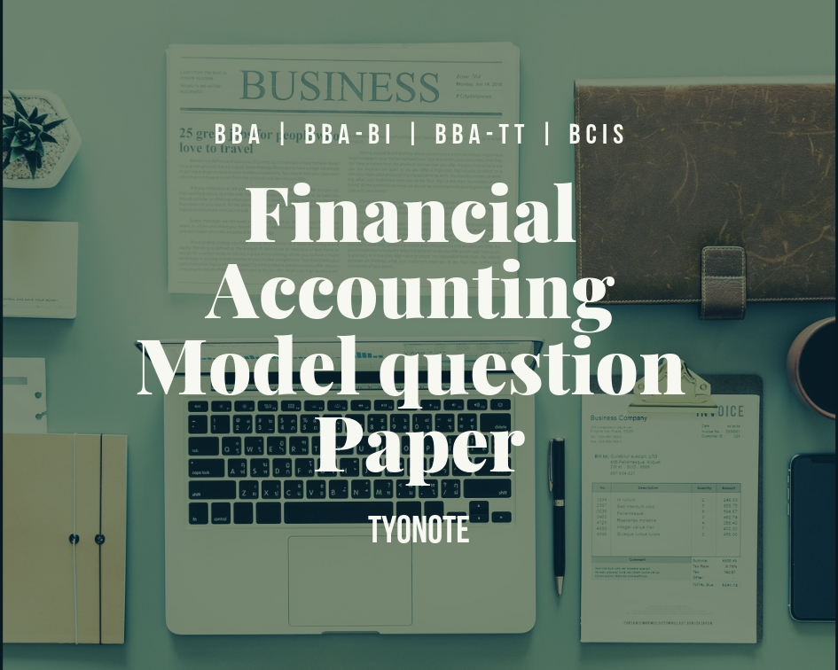 financial accounting model question paper