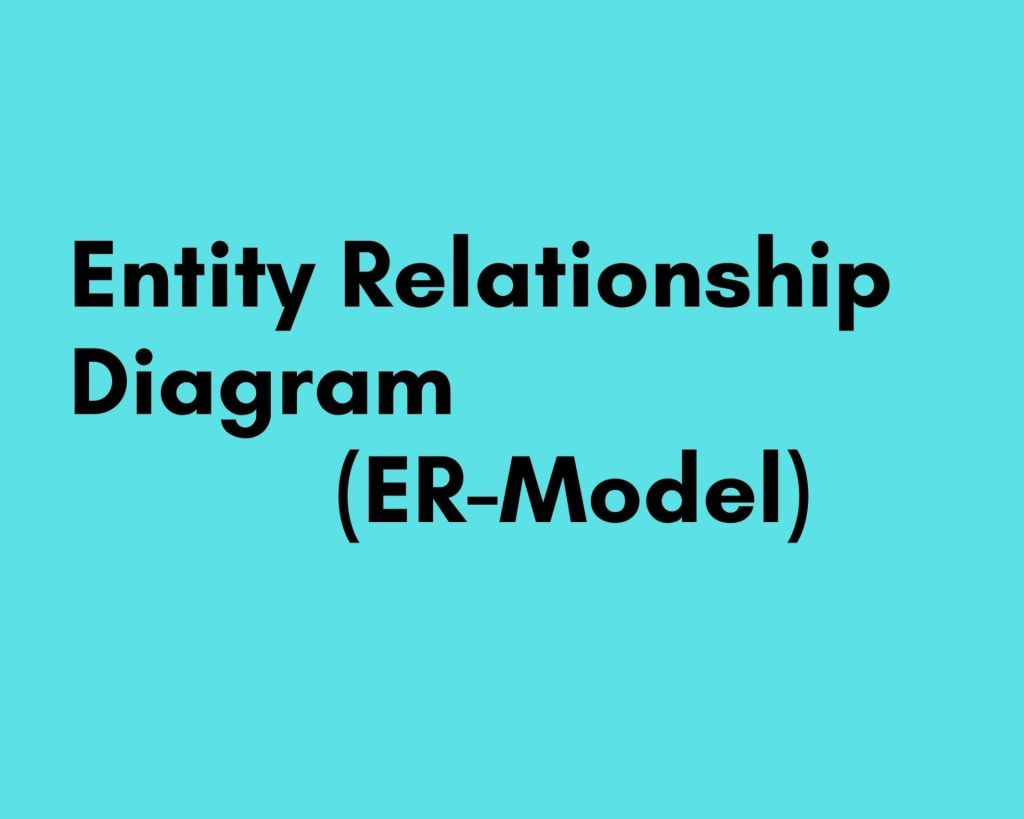 entity relationship diagram drawing guide