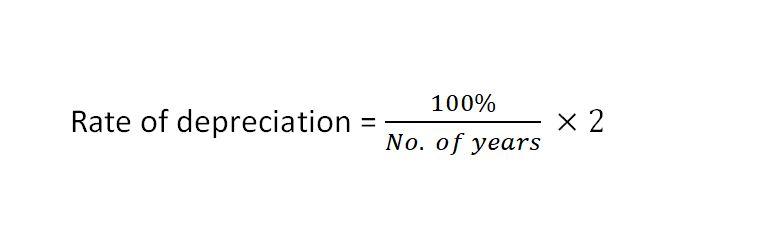double declining balance method depreciation rate
