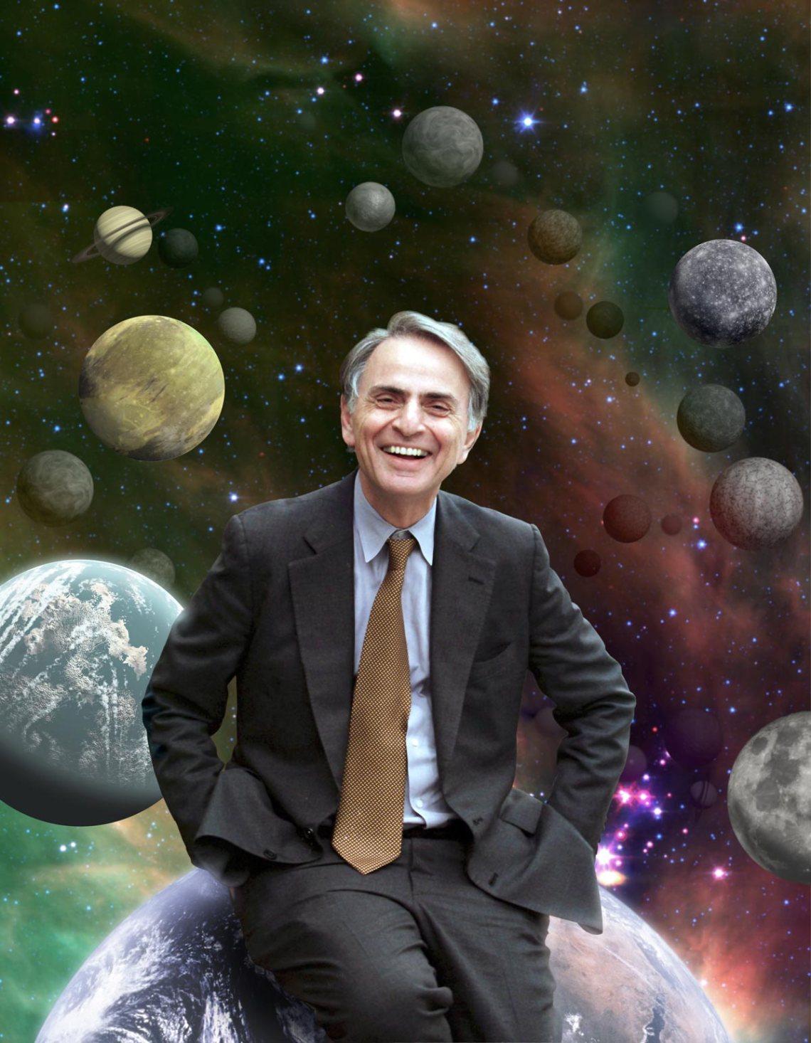 American Astronomer Carl Sagan writer of The Burden of Skepticism