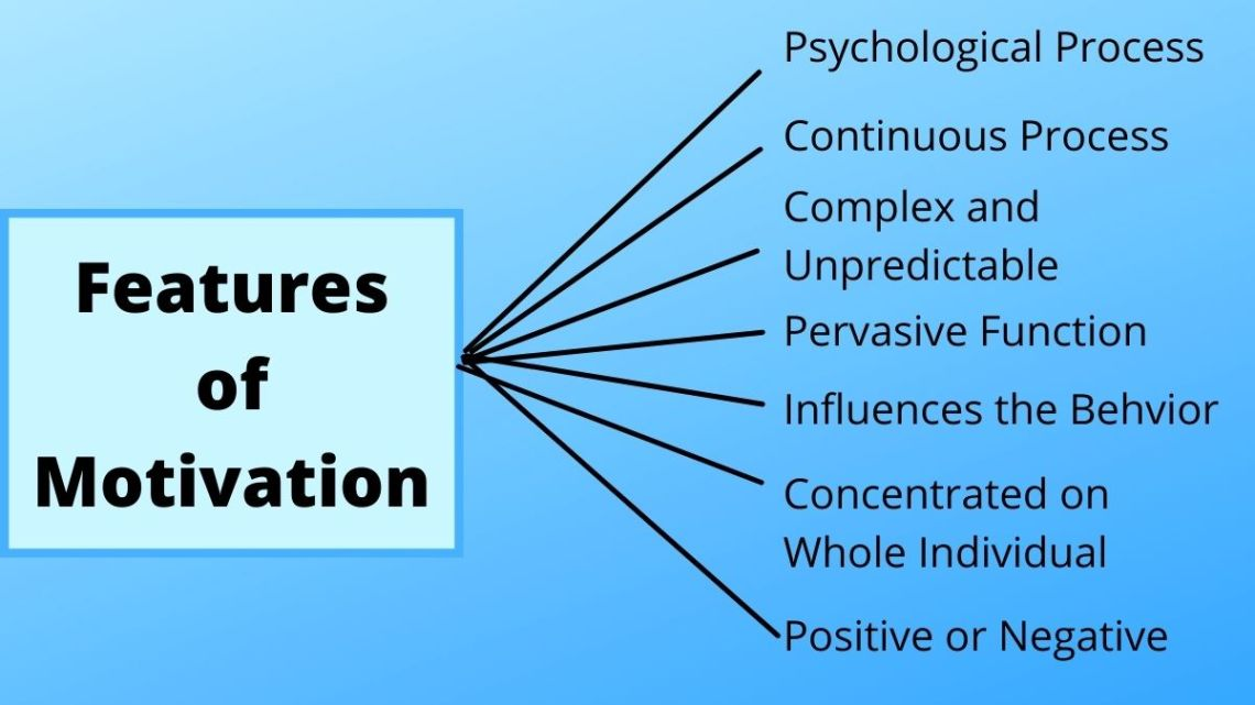 features of motivation