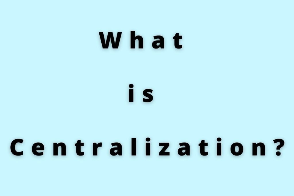 what is centralization