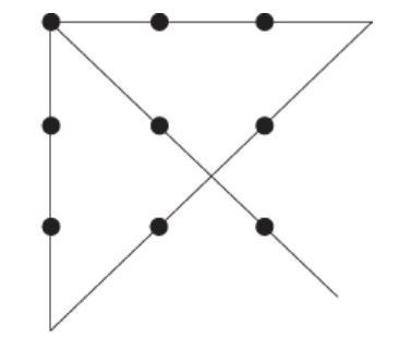 nine dot problem solution