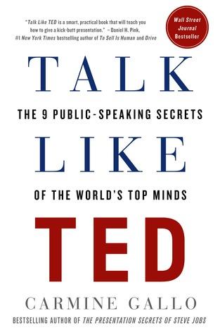 Talk Like TED one of best public speaking books