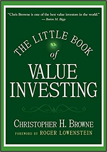 The Little Book of Value Investing one of investing books