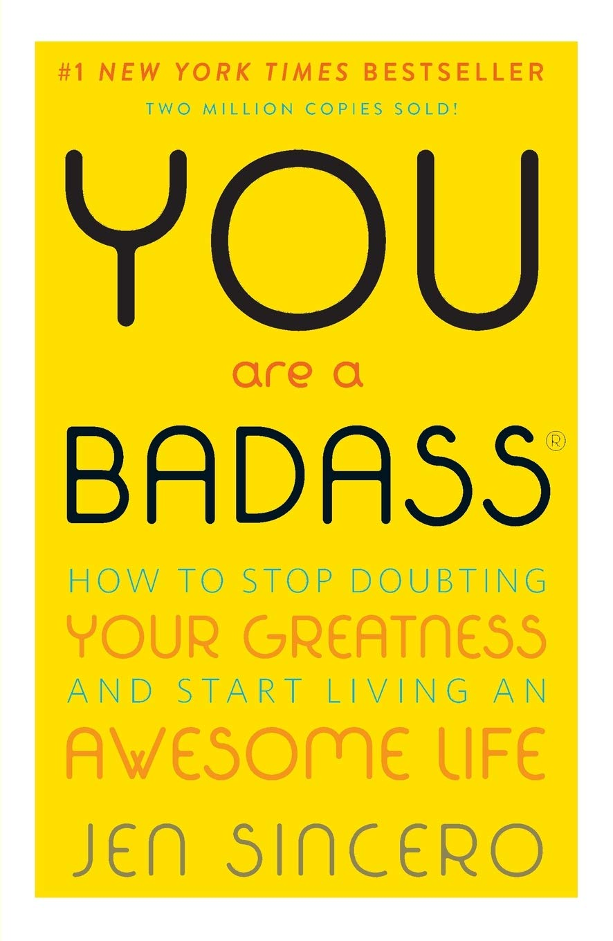 You Are a Badass one of self improvement books