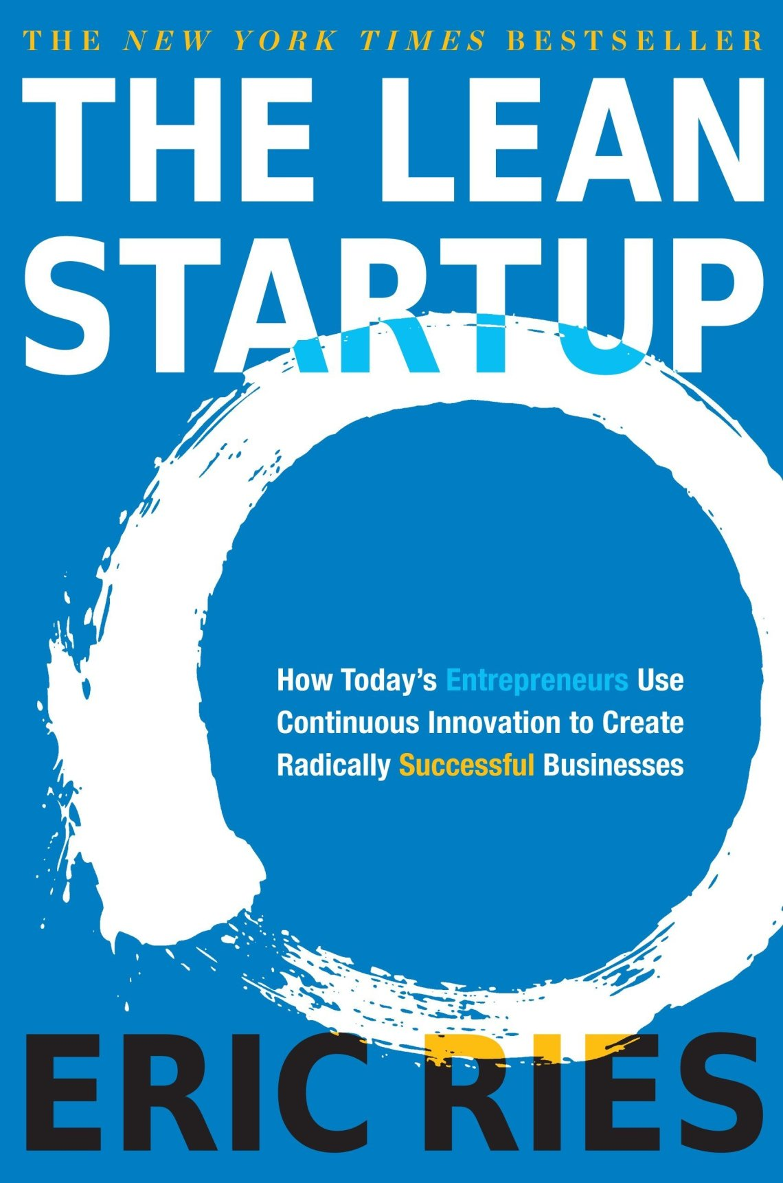 The Lean Startup one of business books