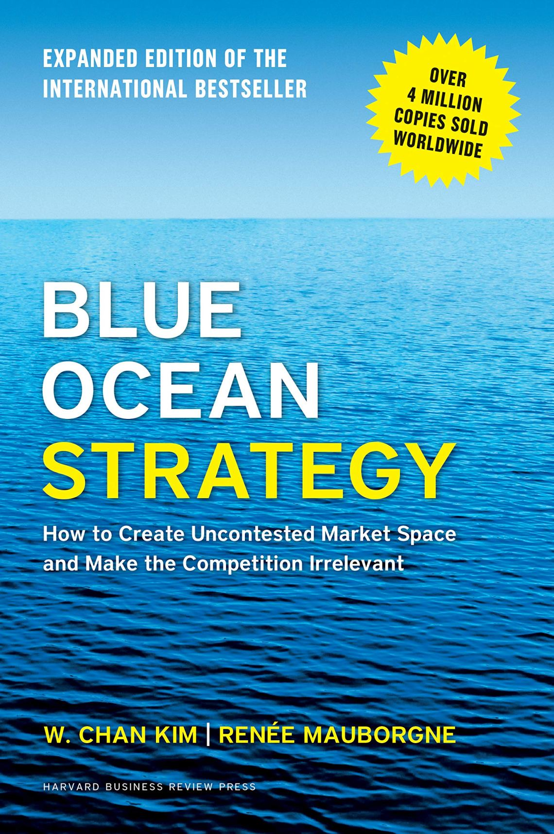 Blue Ocean Strategy one of business books