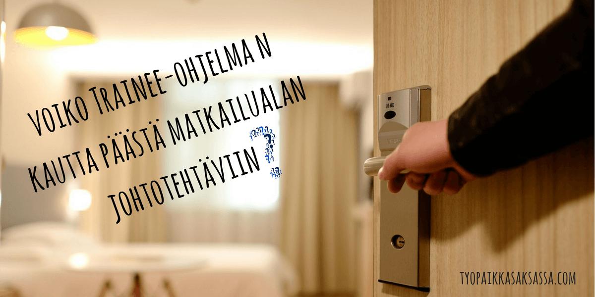 Trainee saksalaisessa hotellissa
