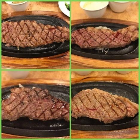 フォルクスイースト21サーロインステーキ食べ放題