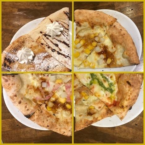 伊勢崎ナポリの食卓食べ放題ピザ1