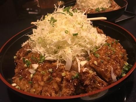 長野上田かりん亭チャレンジメニューメガかつ丼
