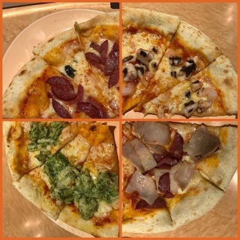 高崎ピザ食べ放題イタリアンボンジョルノクッチーナ大食い