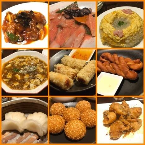 宇都宮暖龍柳瀬オーダーバイキング中華食べ放題各料理2
