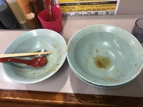 立川マシマシ足利ヒーヒー麺の麺を豆腐とごはんに変更