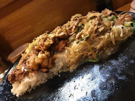2代目蝦夷からあげ焼肉相盛り特注かなえスペシャル