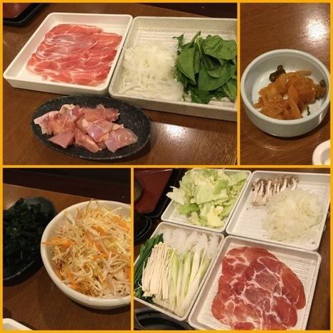 和食さと西大島店しゃぶしゃぶ大食い追加オーダー各種
