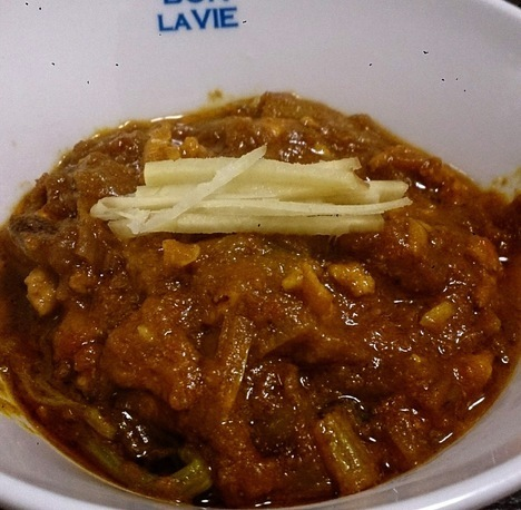 自家製インドカレー手料理キーマカレー