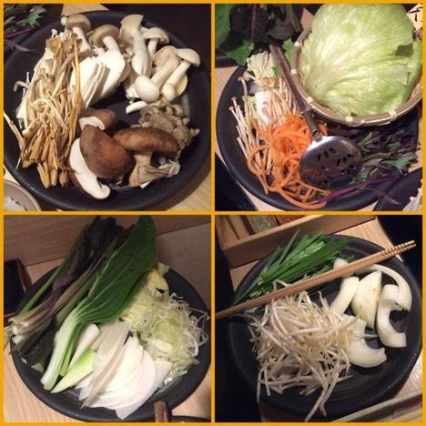 しゃぶしゃぶ温野菜食べ放題野菜